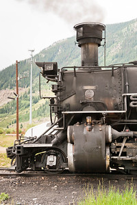 Durango and Silverton Railroad August 2007