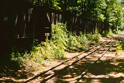 East Broad Top Railroad  Mount Union Pennsylvania about 1995
