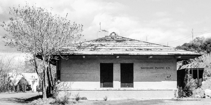 Southern Pacific Station Globe Az-Edit