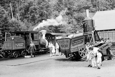 Mt washington cog railway 1