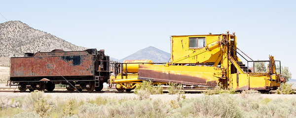 Nevada Northern Railway August 2009