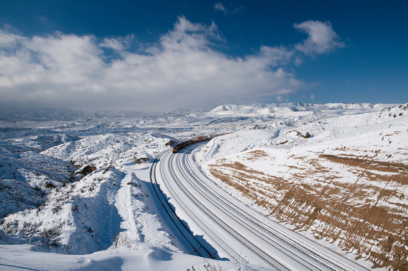 Cajon & Snow #14
