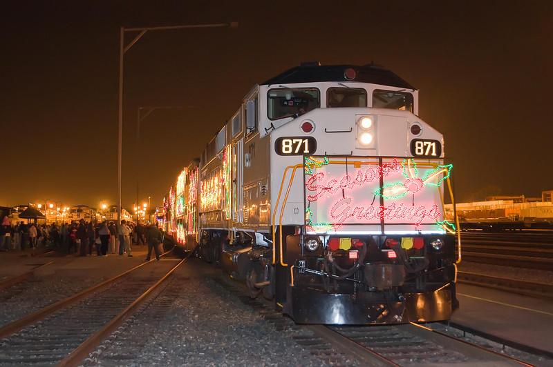 Christmas Train November 21, 2009 #01