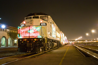 Metrolink Christmas Train