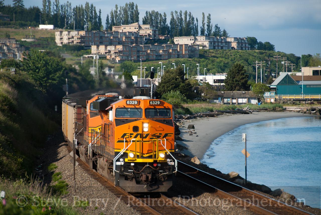 Photo 2095<br /> BNSF Railway; Edmonds, Washington<br /> June 17, 2011