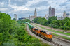 Photo 3918<br /> BNSF Railway (on Norfolk Southern); Cleveland, Ohio<br /> August 16, 2016