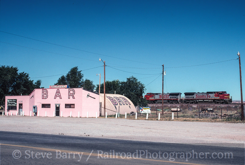 Photo 2201 Burlington Northern & Santa Fe; Prewitt, New Mexico September 30, 1999