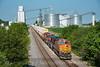 Photo 4268<br /> BNSF Railway<br /> Ransom, Illinois<br /> July 19, 2017
