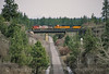 Photo 4081<br /> Burlington Northern & Santa Fe; Cheyney, Washington<br /> April 2001