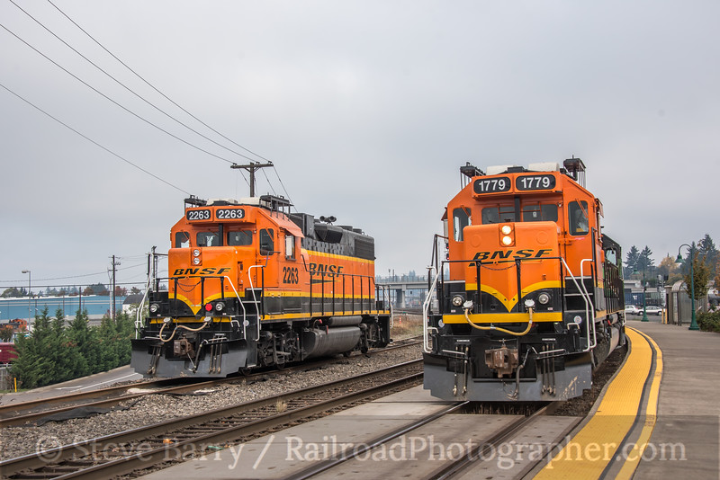 Photo 5350<br /> BNSF Railway<br /> Vancouver, Washington<br /> October 20, 2018