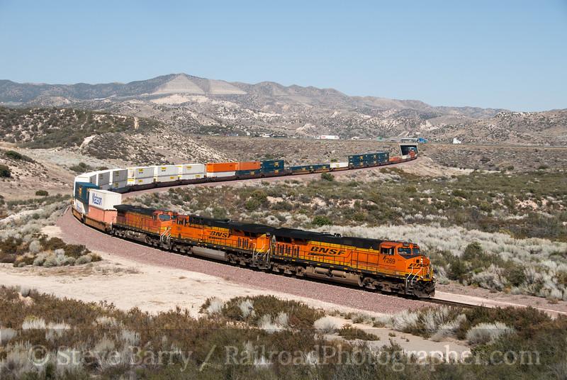 Photo 2322<br /> BNSF Railway; Cajon, California<br /> March 13, 2012