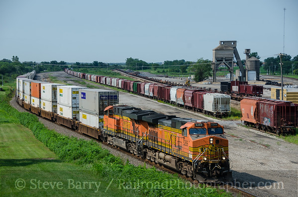 Photo 3446 BNSF Railway; Marceline, Missouri August 13, 2015