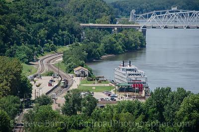 Photo 3447 BNSF Railway; Hannibal, Missouri August 13, 2015