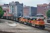 Photo 3822<br /> BNSF Railway; West Bottoms, Kansas City, Missouri<br /> July 4, 2016