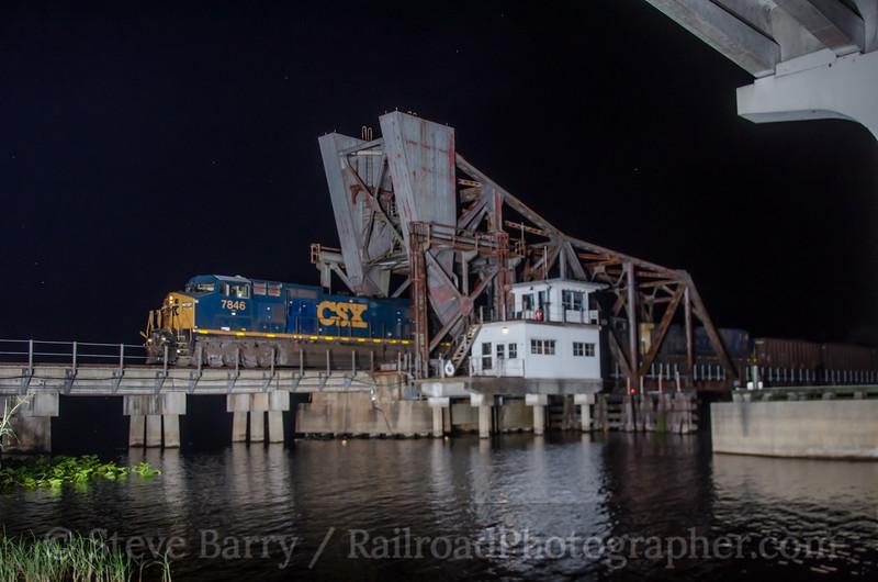Photo 3116<br /> CSX Transportation; Lake Morgan, Sanford, Florida<br /> March 15, 2014