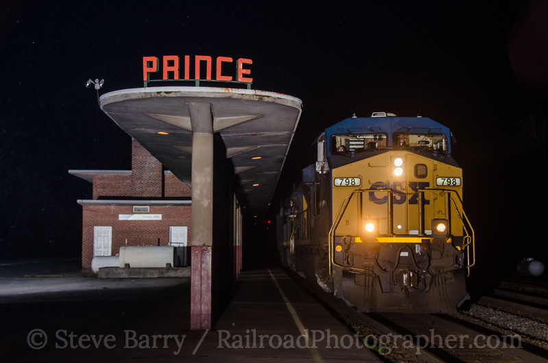 Photo 2660<br /> CSX Transportation; Prince, West Virginia<br /> April 10, 2013