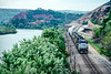 Photo 5231<br /> CSX Transportation (on Conrail)<br /> Walnutport, Pennsylvania<br /> August 1990