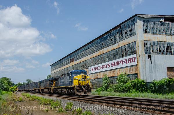 Photo 3431 CSX Transportation; Newburgh, New York July 10, 2015