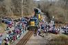 Photo 3263<br /> CSX Santa Train; Fort Blackmore, Virginia<br /> November 22, 2014