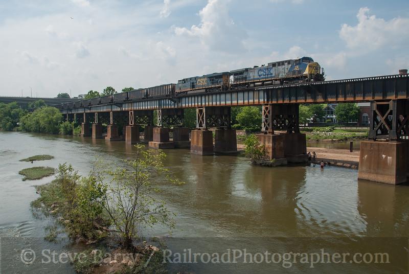 Photo 3146<br /> CSX Transportation; Richmond, Virginia<br /> May 28, 2014