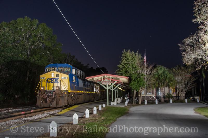 Photo 2933<br /> CSX Transportation; DeLand, Florida<br /> December 16, 2013