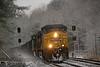 Photo 1784<br /> CSX Transportation; Leeland Road, Fredericksburg, Virginia<br /> January 8, 2010
