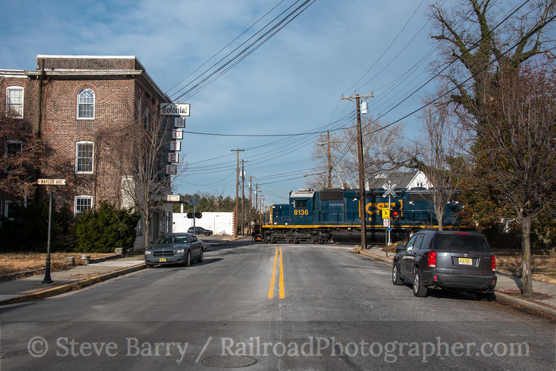 Photo 4500<br /> CSX Transportation (on Conrail Shared Assets)<br /> Penns Grove, New Jersey<br /> January 19, 2018