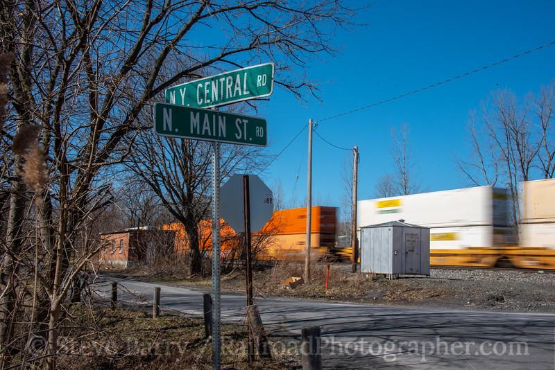 CSX Transportation; Port Byron NY; 3/15/20