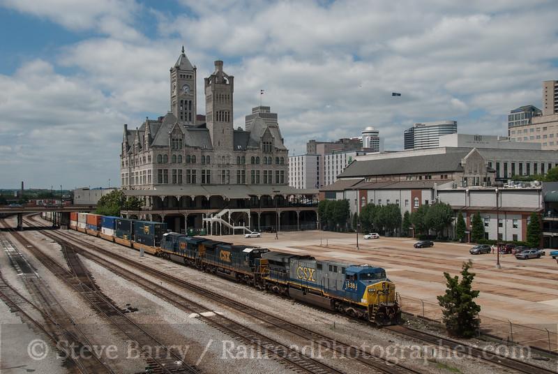 Photo 3166<br /> CSX Transportation; Union Station, Nashville, Tennessee<br /> June 8, 2014