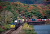 Photo 2103<br /> CSX Transportation; Iona Island, Fort Montgomery, New York<br /> October 25, 1999
