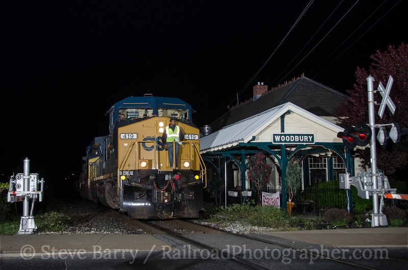 Photo 2678<br /> CSX (on Conrail Shared Assets); Woodbury, New Jersey<br /> May 4, 2013