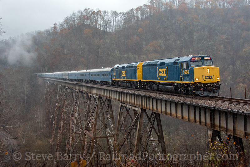 CSX Santa Train; Speers Ferry VA; 11/23/19