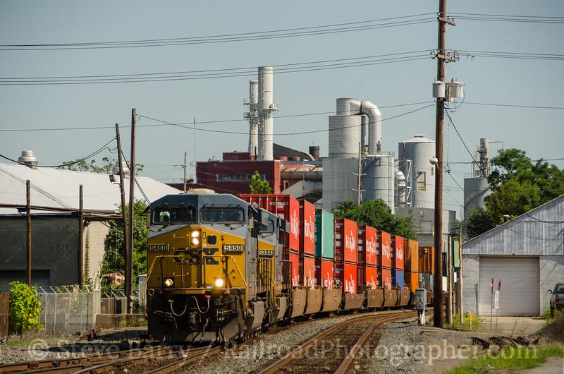 Photo 3445<br /> CSX Transportation; Hamilton, Ohio<br /> August 7, 2015