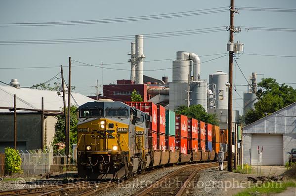 Photo 3435 CSX Transportation; Hamilton, Ohio August 7, 2015