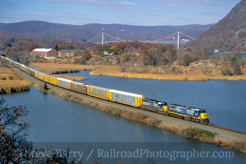 CSX; Bear Mountain NY; 11/2005