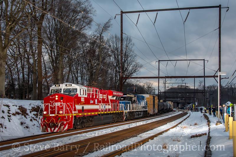 CSX; Woodbourne PA; 2/16/21