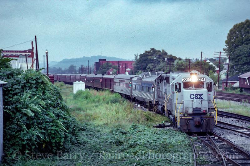 CSX; Huntington WV; 8/1991