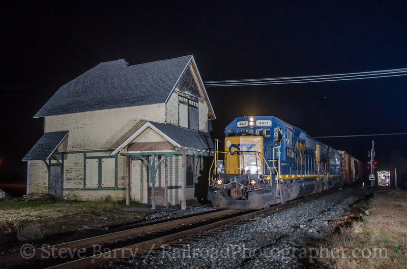 Photo 2833<br /> CSX (on Conrail Shared Assets); Sewell, New Jersey<br /> November 7, 2013