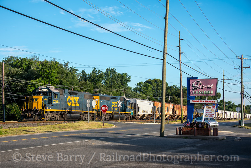 Photo 5108<br /> CSX Transportation (on Conrail Shared Assets)<br /> Vineland, New Jersey<br /> July 20, 2018