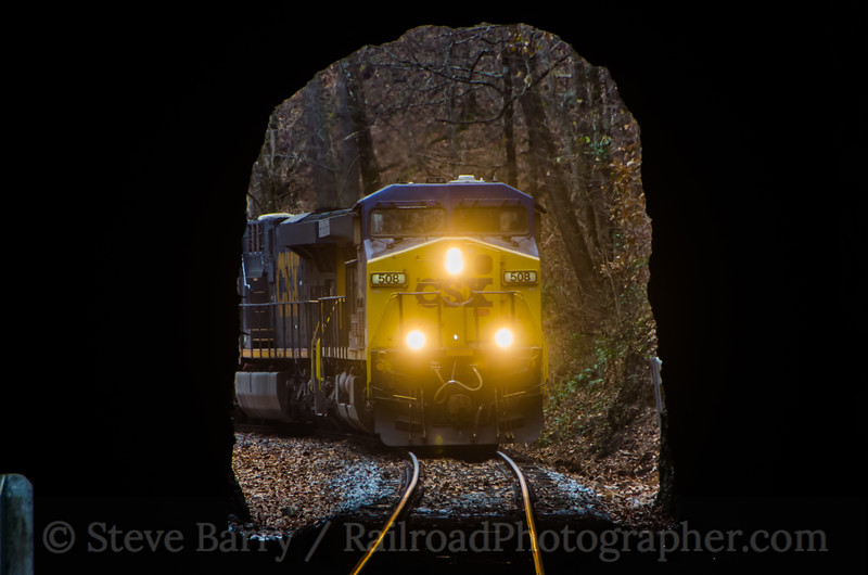 Photo 3267<br /> CSX Transportation; Natural Tunnel, Virginia<br /> November 23, 2014