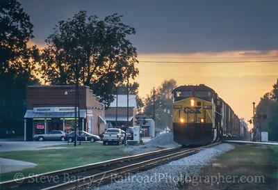 Photo 3797 CSX Transportation; Micro, North Carolina November 2005