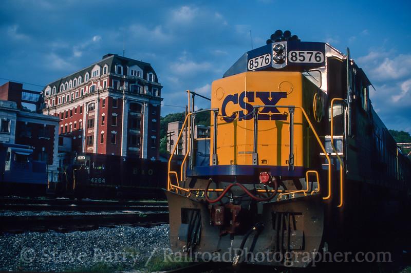CSX; Grafton WV; 8/1991