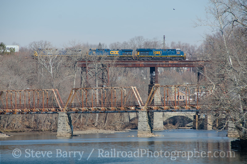 Photo 3691<br /> CSX Transportation; Catskill, New York<br /> March 9, 2016