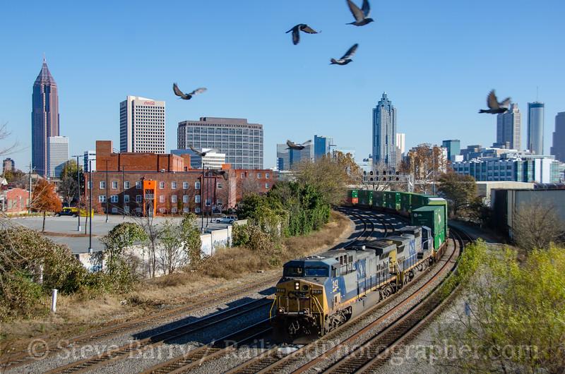 Photo 4015<br /> CSX Transportation; Atlanta, Georgia<br /> December 10, 2016