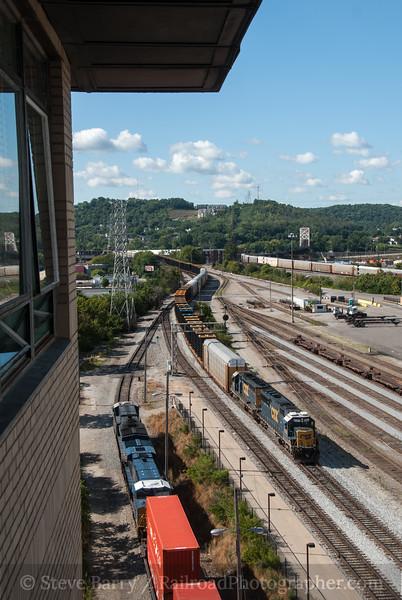 Photo 2426<br /> CSX Transportation; Cincinnati Union Terminal, Cincinnati, Ohio<br /> August 11, 2012