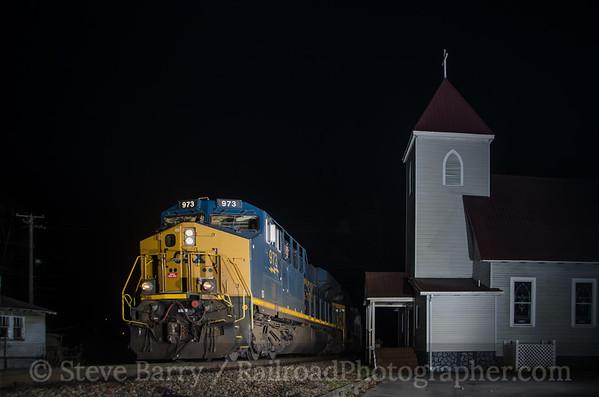Photo 3265 CSX Transportation; Dante, Virginia November 22, 2014