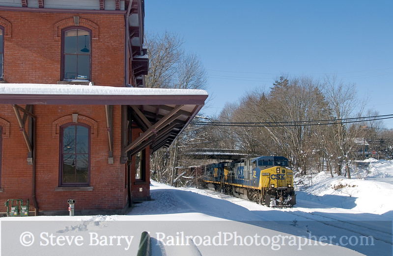 Photo 1795<br /> CSX Transportation; Hopewell, New Jersey<br /> February 12, 2010