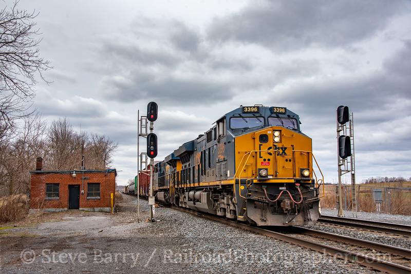 CSX; Weedsport NY; 3/14/20