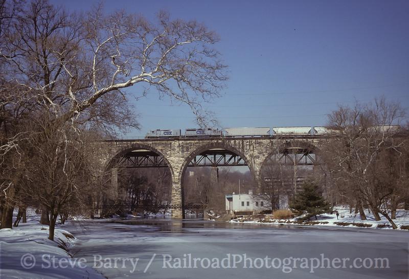 Photo 3537<br /> CSX Transportation; Wilmington, Delaware<br /> February 1994