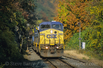 CSX Transportation Bear Mountain, Fort Montgomery, New York November 2005
